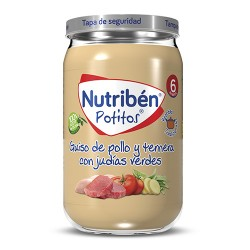 Nutribén 6Pack Potitos +6m