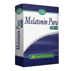 Melatonin Pura 1,9mg 60 Microtabletas