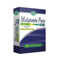 Melatonin Pura Retard 1,9mg 60 Microtabletas