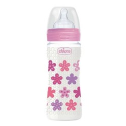 Comprar Chicco Biberón Well-Being Silicona +4m 330ml