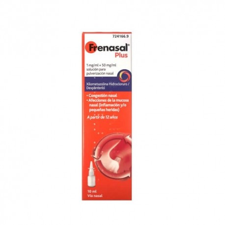 Frenasal Plus 1/50 mg/ml Nebulizado Nasal 10ml