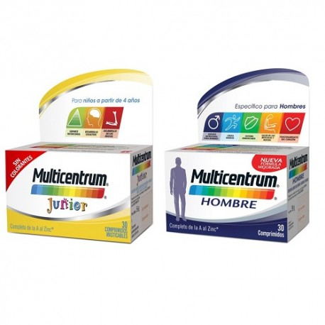 Multicentrum Pack Junior + Hombre