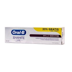 Comprar Oral B Pasta 3D White Brillo Seductor 75ml + 33% Gratis