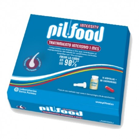 Pilfood Pack Intensity 15 Ampollas + 60 Comprimidos