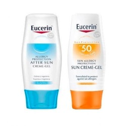 EUCERIN SOLAR ALLERGY CREMA/GEL 50+ 150M