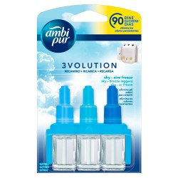 Ambi Pur 3Volution Recambio Ambientador Aire Fresco21ml