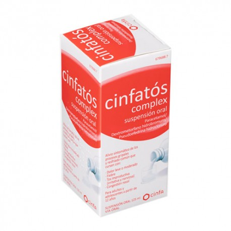 Cinfatos Complex Suspensión Oral 125ml