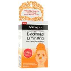 Comprar Neutrogena Blackhead Eliminating Tiras Exfoliantes 6 unids