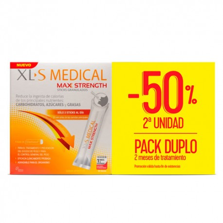 XLS Medical Max Strength Duplo 2x60 Sticks