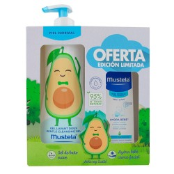 Mustela Pack Gel de Baño + Crema Facial Piel Normal