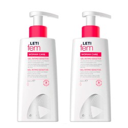 Comprar LetiFem Woman Care Gel Íntimo Sensitive Duplo 2x250ml