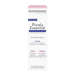 Diadermine Purely Essential Crema Reparadora Noche 40ml