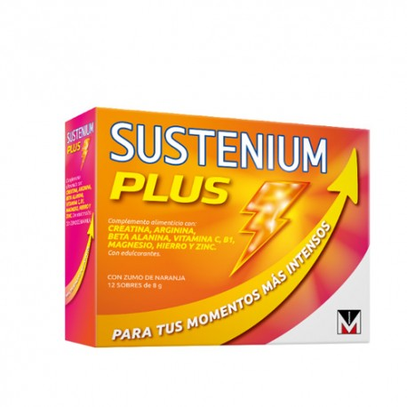 Sustenium Plus Multivitaminico 12 Sobres