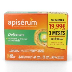 Comprar Apiserum Defensas Pack 90 Cápsulas Blandas