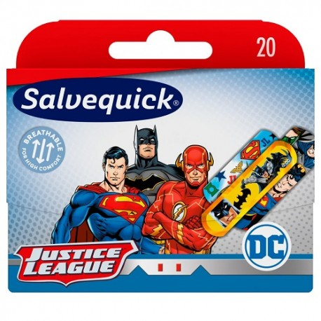 Salvelox Apósitos Surtidos Justice League 20 uds