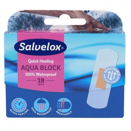 Salvelox Apósitos Aquablock 18 uds
