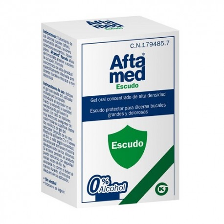Aftamed Escudo Gel Oral Concentrado Alta Densidad 10ml