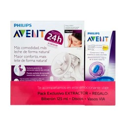 Philips Avent Extractor Leche + Vasos Regalo