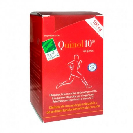 100% Natural Quinol-10 100mg 60 Cápsulas
