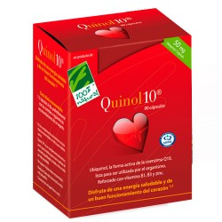 100% Natural Quinol-10 50mg 90 Cápsulas