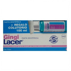 Gingilacer Pasta Dental 125ml + Colutorio 100ml