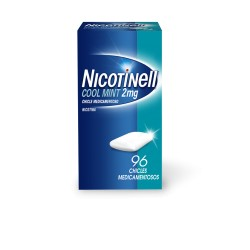 NICOTINELL COOL MINT (2 MG 96 CHICLES MEDICAMENTOSOS)