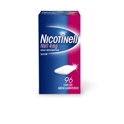 Comprar Nicotinell Fruit 4 mg 96 Chicles