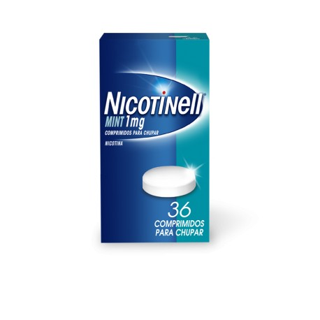 NICOTINELL MINT (1 MG 36 COMPRIMIDOS PARA CHUPAR)