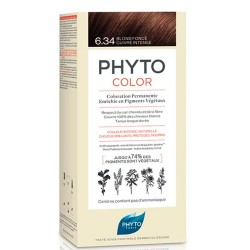 Phyto Color 6.34 Rubio Oscuro Cobrizo