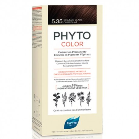 Phyto Color 5.35 Castaño Claro Chocolate