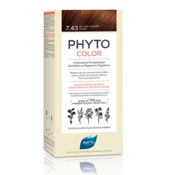 Phyto Color 7.43 Rubio Dorado Cobrizo