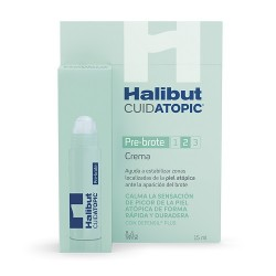 Comprar Halibut CuidAtopic Crema Pre-Brote Roll-on 15ml