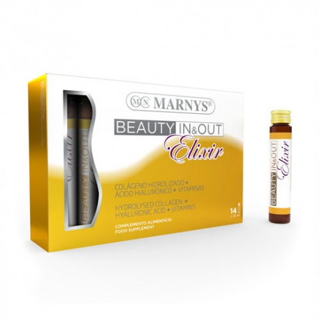 Marnys Beauty In & Out Elixir 14  Viales