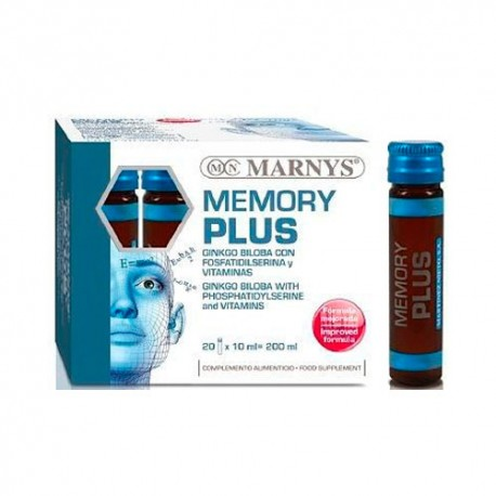 Marnys Memory Plus 20 Viales x 10ml