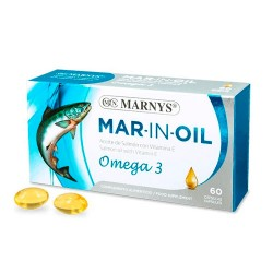 Marnys Mar-In-Oil Aceite De Salmon 60 Cápsulas X 500 Mg