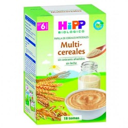Hipp Multi-Cereales Papilla Cereales Integrales +6m 400gr
