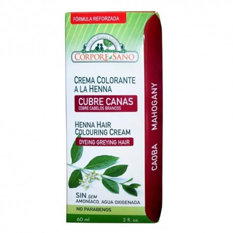 Corpore Sano Cubre Canas color Caoba 60ml
