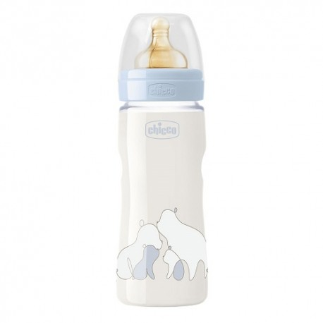 Chicco Biberón Original Touch Azul +4m 330ml