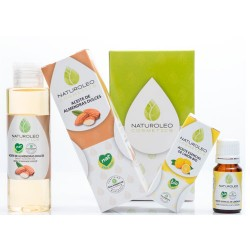 Naturoleo Pack Almendra 100 ml + Aceite Esencial Limon Bio 10 ml