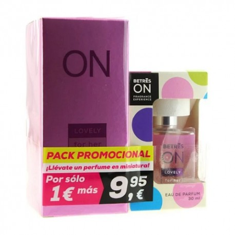 Betres ON Pack Perfume Lovely 100ml + Formato Bolsillo 30ml