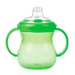 Nuby Taza Antigoteo 4 -12m 295ml