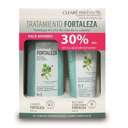 Cleare Institute Pack Fortaleza Anticaída Champú 400ml + Mascarilla 150ml