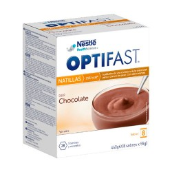 Comprar Optifast Natillas Sabor Chocolate 8 sobres