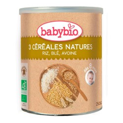 Babybio Tres Cereales Nature