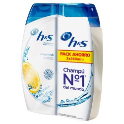 H&S Bundle 2X360ml Champú Citrus