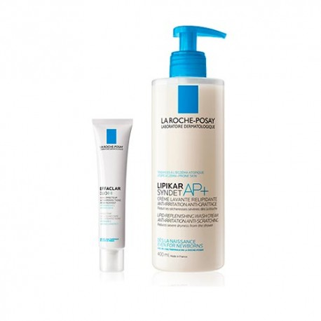 La Roche-Posay Pack Effaclar Duo (+) 40ml + Lipikar Syndet AP+ 400ml