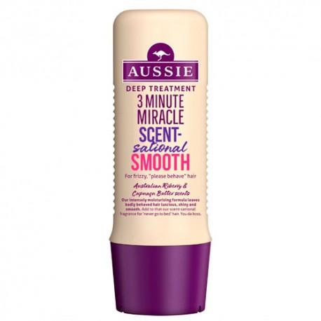 Aussie Mascarilla 3MM Scent Smooth 250ml