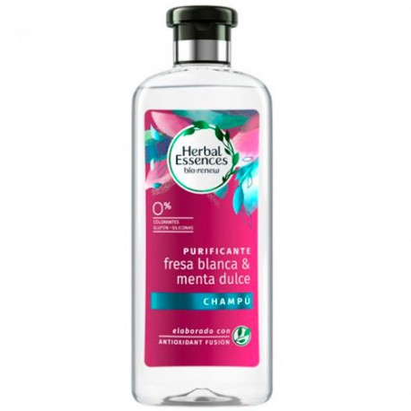 Herbal Essences Champú Purificante Fresa 400ml