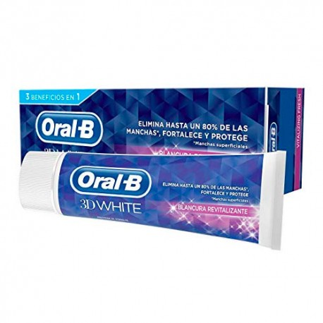 Oral B Pasta 3D White Blancura Revitalizante 75ml
