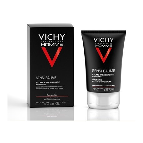 Vichy Homme Sensi Baume Bálsamo After-Shave 75ml